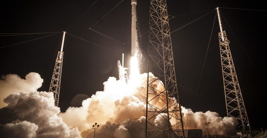 SpaceX Resumes Commercial Spaceflights