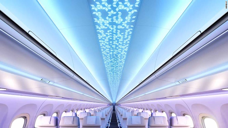 Airbus Unveils New Cabin Design for the A320