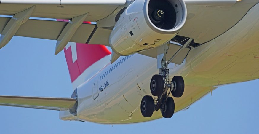 Where Is the Engine Located on a Typical Commercial Jet?