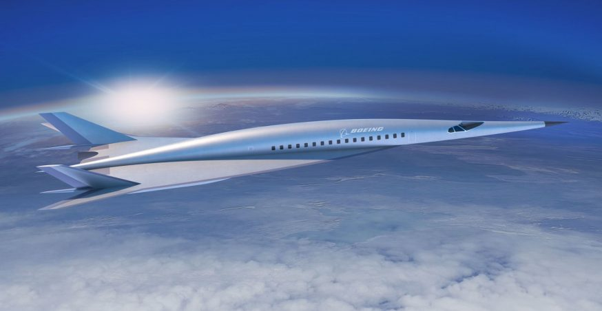 Boeing Reveals Concept Design of Hypersonic Jet