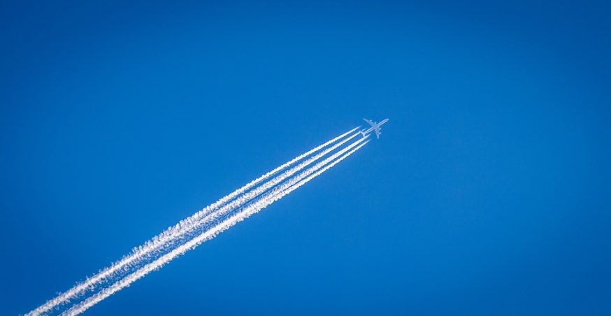 Why Do Airplanes Leave a White Smoke Trail in Their Wake?
