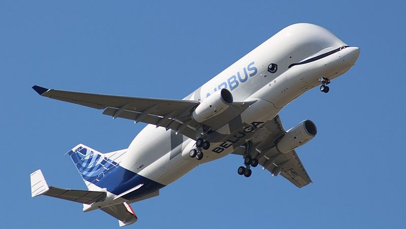 Airbus's BelugaXL Spotted Over Ireland