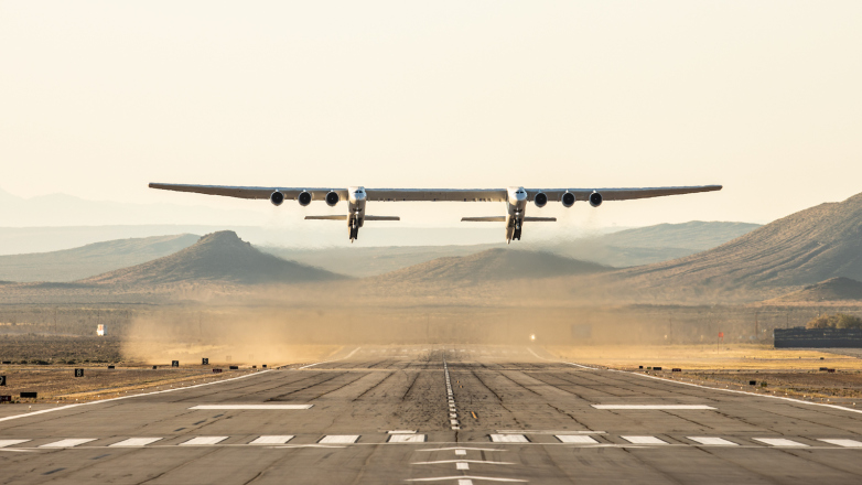 World's Largest Plane Performs First Test Flight