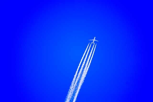 Why Do Airplanes Leave Behind a White Trail in the Sky?