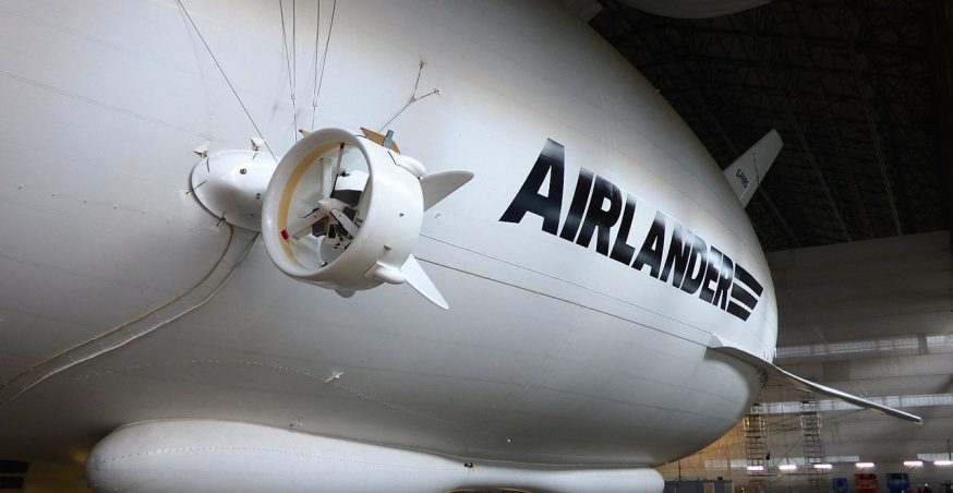 The British Airlander 10: A Look at the World's Largest Aircraft