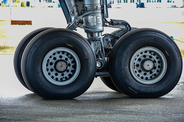 Why Airplane Tires Are Made of Conductive Rubber